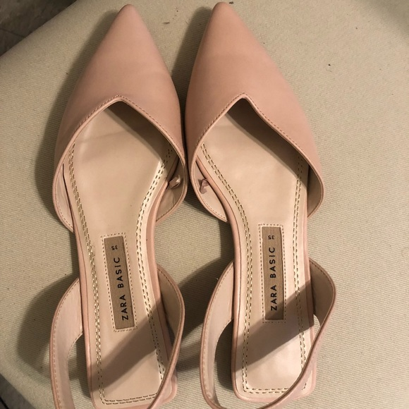 Zara Shoes | Cute Flats Perfect For